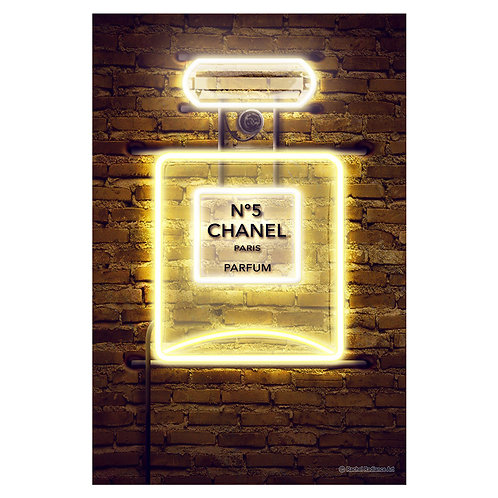 Canvas print Neon 2 - 75 x 50 cm