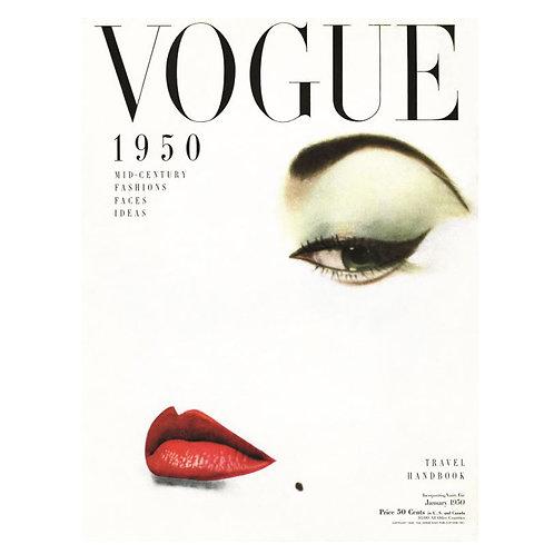Canvas print Vogue 5 - 75 x 50 cm