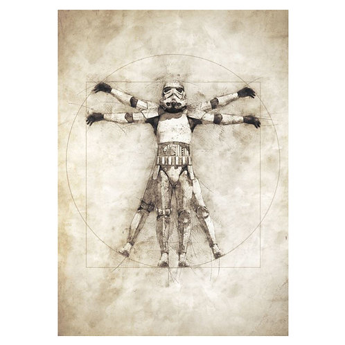 Canvas print Star Wars 54 - 60 x 40 cm
