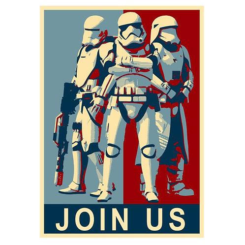 Canvas print Star Wars 101 - 75 x 50 cm