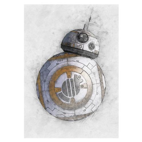 Canvas print Star Wars 34 - 60 x 40 cm