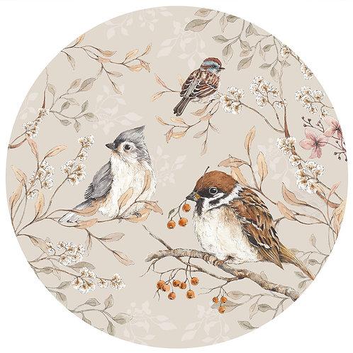Birds in a Circle L