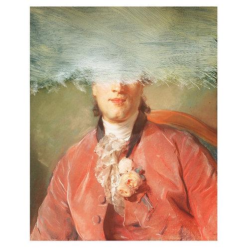 Canvas print portraits historiques (5) - 75 x 50 cm