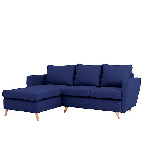 Corner Sofa  LOVER L - ink(et80), natural