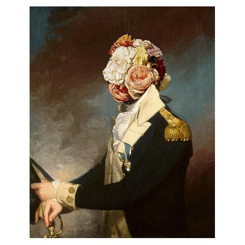 Canvas print portraits historiques (4) - 75 x 50 cm