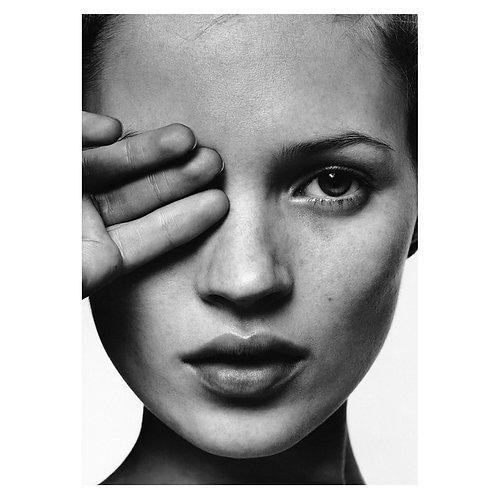 Canvas print Kate Moss - 75 x 50 cm