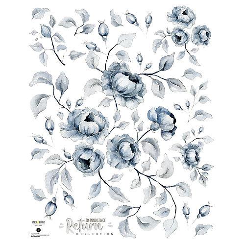 Blue Roses Vintage Set