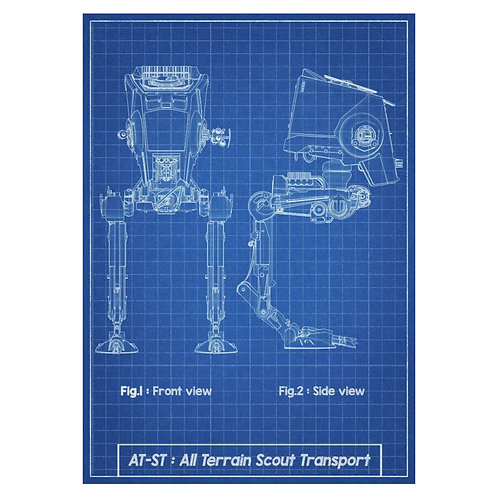 Canvas print Star Wars 41 - 60 x 40 cm