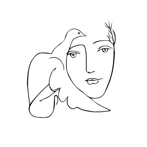 Canvas print Picasso 1 - 75 x 50 cm