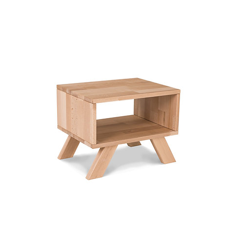 Allegro bedside table natural (linseed oil)