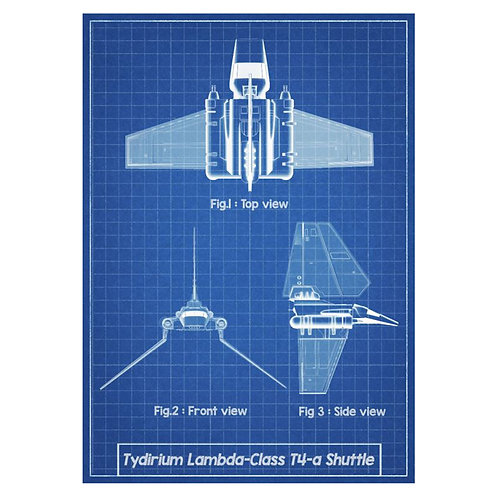 Canvas print Star Wars 53 - 60 x 40 cm