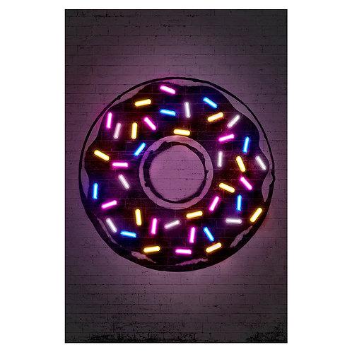 Canvas print Donuts - 60 x 40 cm