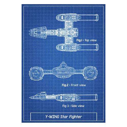 Canvas print Star Wars 57 - 75 x 50 cm