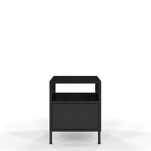 Black modern Dancan MIRKA bedside table