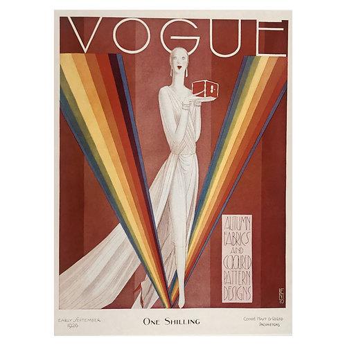 Canvas print Vogue 4 - 75 x 50 cm