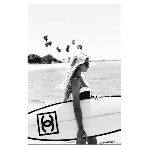 Canvas print Chanel Board - 75 x 50 cm
