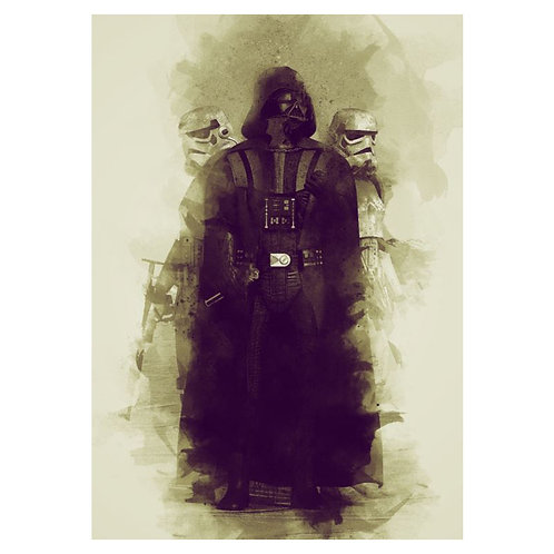 Canvas print Star Wars 7 - 75 x 50 cm