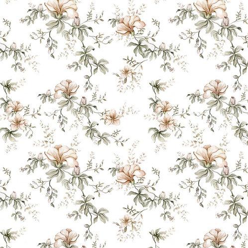 Flowers of wilderness white 50x280cm