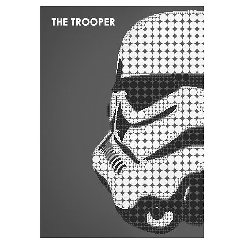 Canvas print Star Wars 20 - 75 x 50 cm