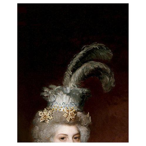 Canvas print portraits historiques (2) - 60 x 40 cm