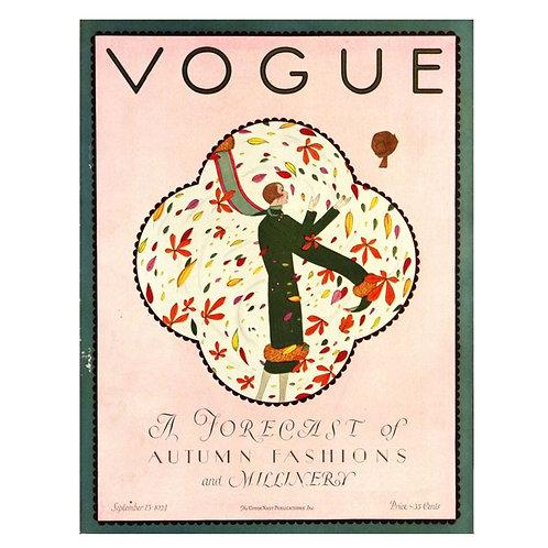 Canvas print Vogue 3 - 60 x 40 cm