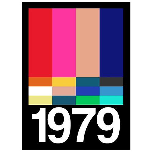 Canvas Print Frances Collett 1980s 1979 75x 50m
