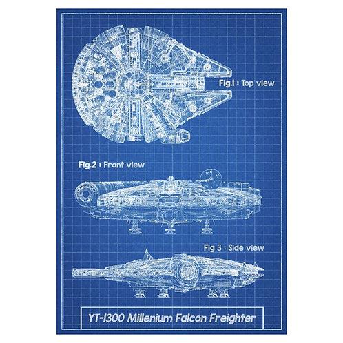 Canvas print Star Wars 43 - 60 x 40 cm