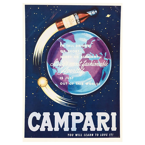 Canvas print Campari 12 - 75 x 50 cm