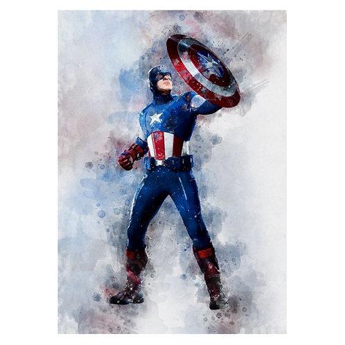 Canvas print Marvel 21 - 75 x 50 cm
