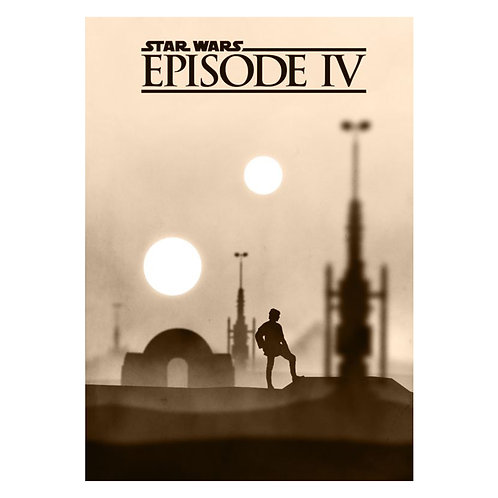 Canvas print Star Wars 64 - 75 x 50 cm