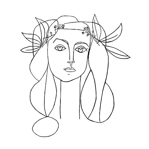 Canvas print Picasso 2 - 75 x 50 cm