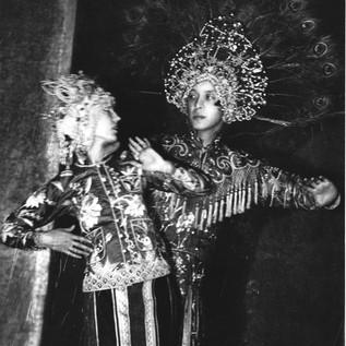 Michio Ito in Peacock Headdress