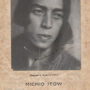 Michio Itow's School of Dance 1919 Brochure