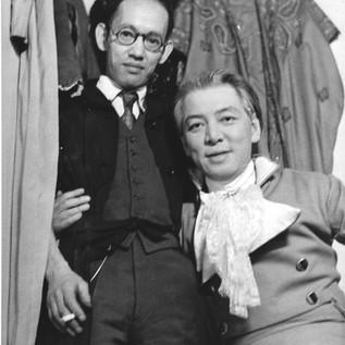 Michio Ito with Toyo Miyatake