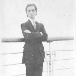 At 19, aboard a ship to Germany,  via France