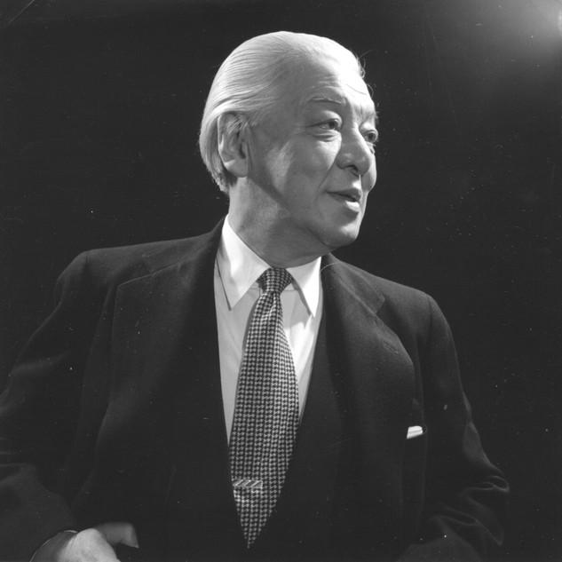 Portrait by Toyo Miyatake