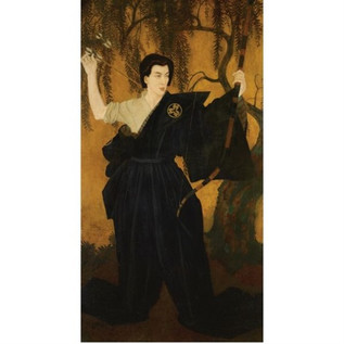 Edmund Dulac Painting of Michio Ito