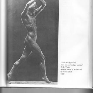 Michio Ito - Bronze Statue by Allan Clark 1920