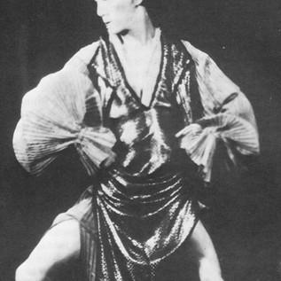 Michio Ito in Costume