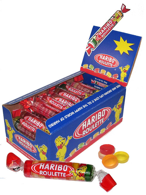 Haribo Roulettes Roll