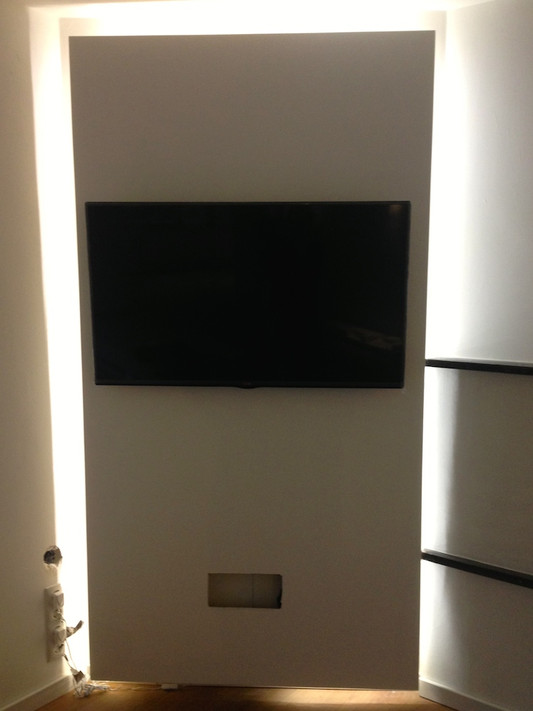 Tv wand selber bauen ikea  Wie Du eine TV-Rückwand mit