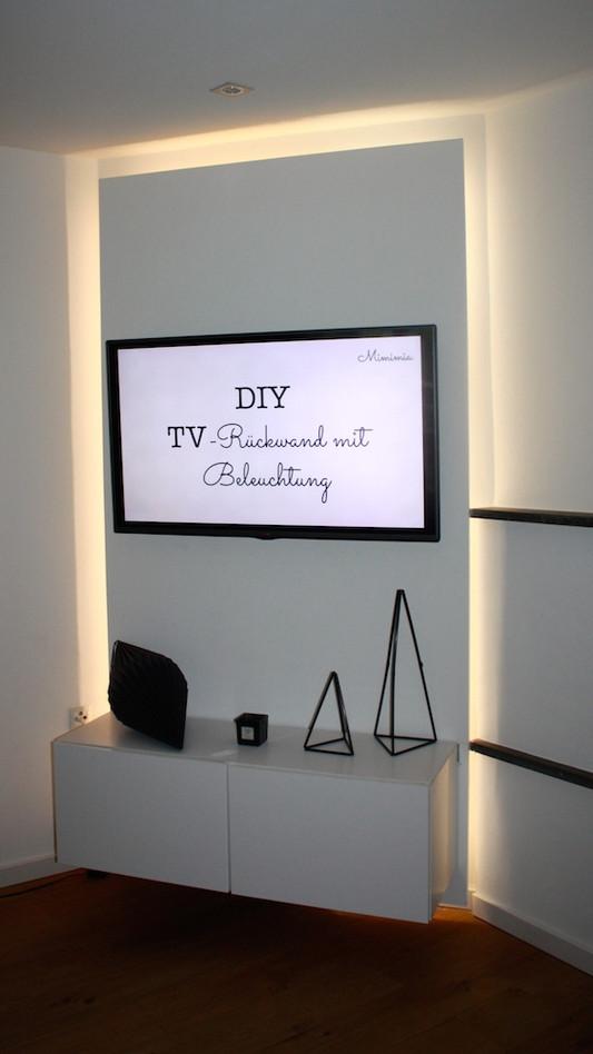 Tv Wand Selber Bauen Ikea
