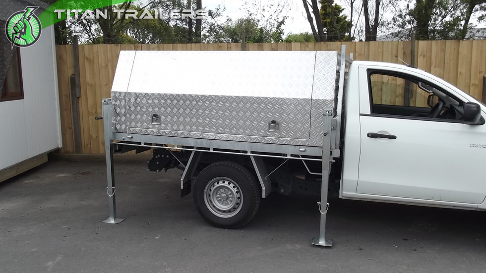Titan Ute Canopies and Tool Boxes