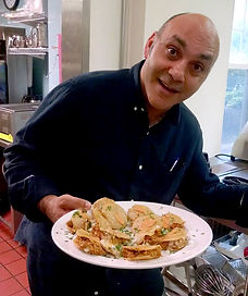 Chef Feker, tequila tasting and duck tacos
