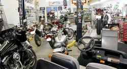 J&B Cycles full shop
