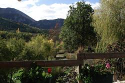 Les Alpes vue de la terrasse nord1