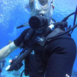 My s.o and diving buddy
