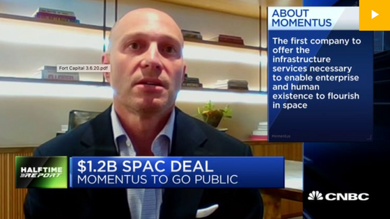 Behind the $1.2 billion SPAC to take space services company Momentus public
