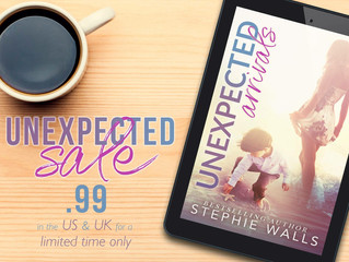 Unexpected Arrivals is on SALE!