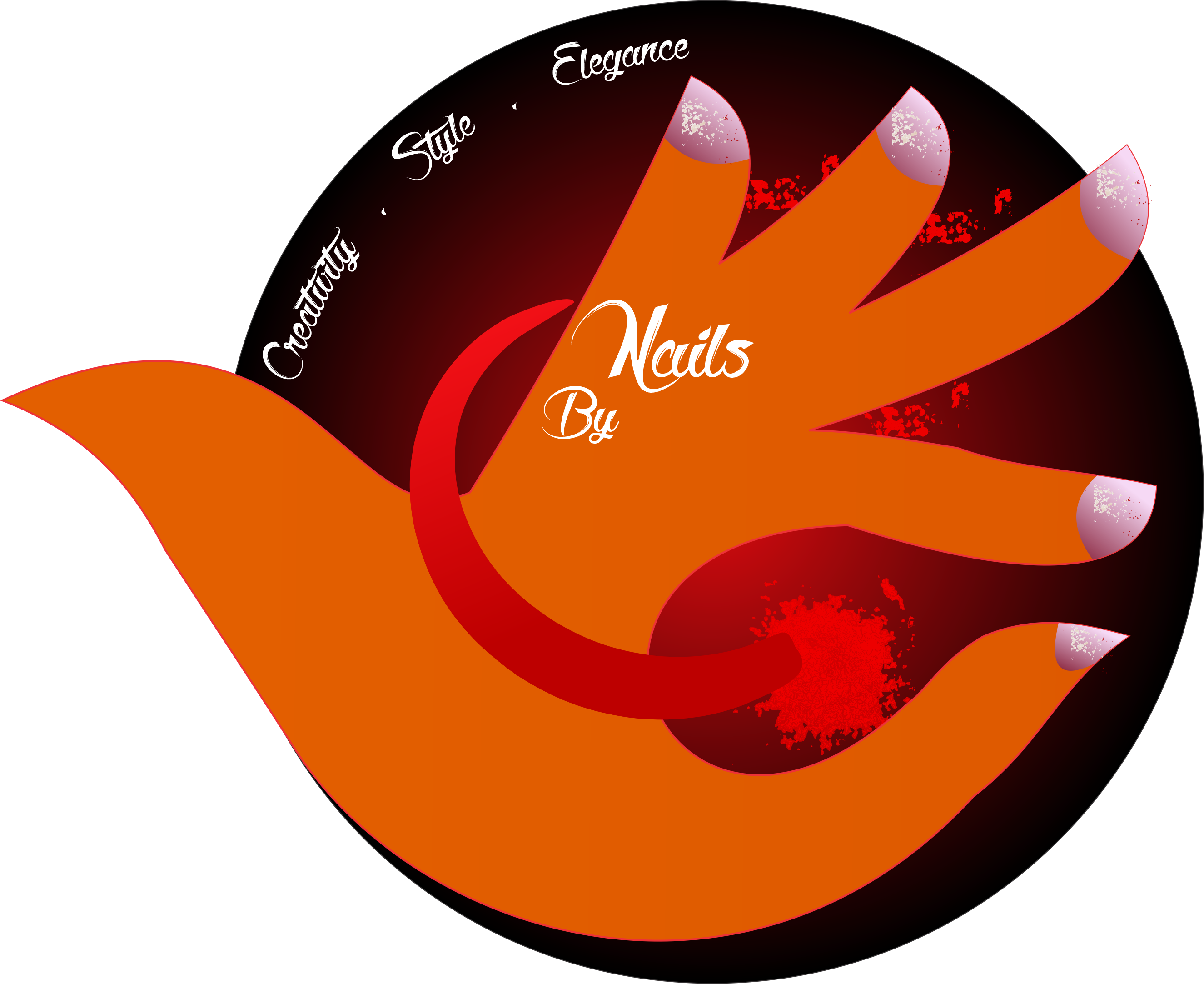 Nail Salon Logo Sold